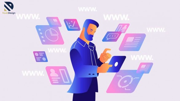 انواع مختلف وب سایت و نحوه طراحی آنها